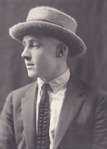 Cotton Proe as a teenager